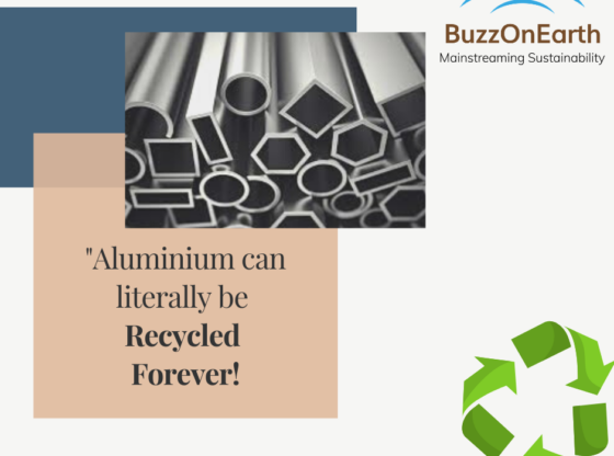 _Aluminium can literally be recycled Forever!