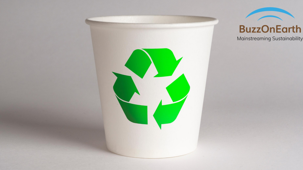 Eco-Friendly Cutlery: Coffee Cup
