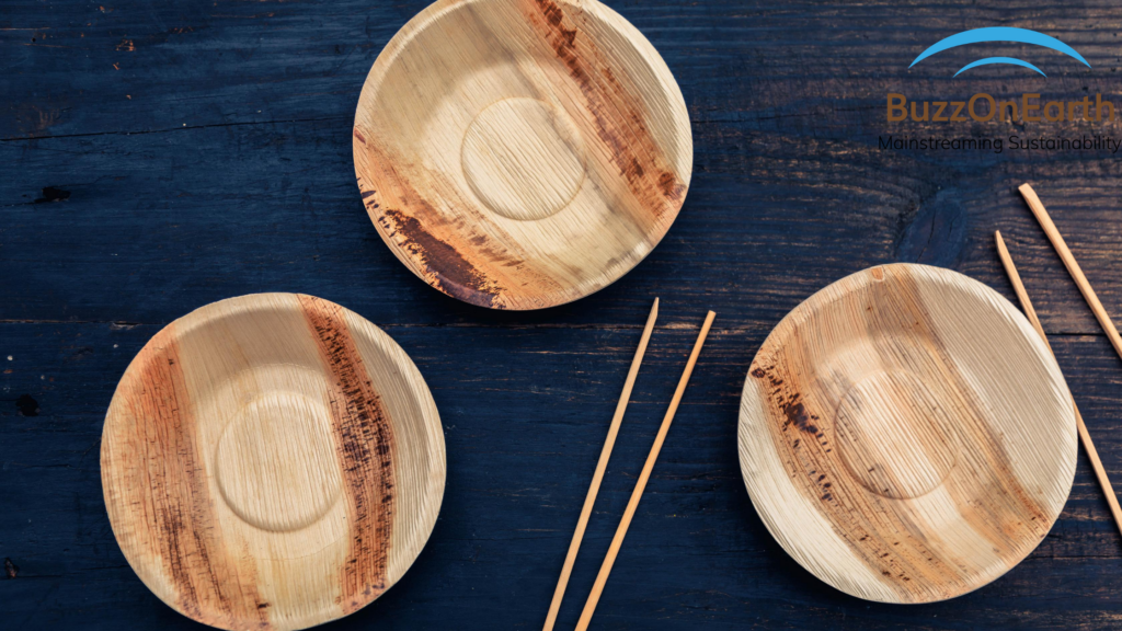 Eco-Friendly Cutlery: Bamboo pulp plates