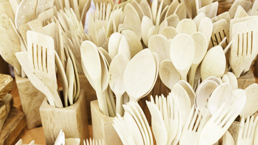 Eco-Friendly Cutlery: Wooden Cutlery