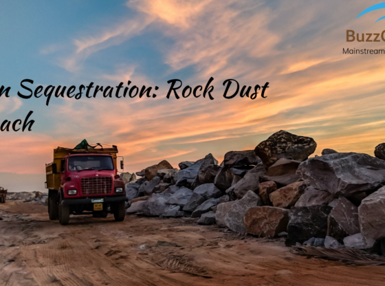 Rock dust approach to Carbon Sequestration