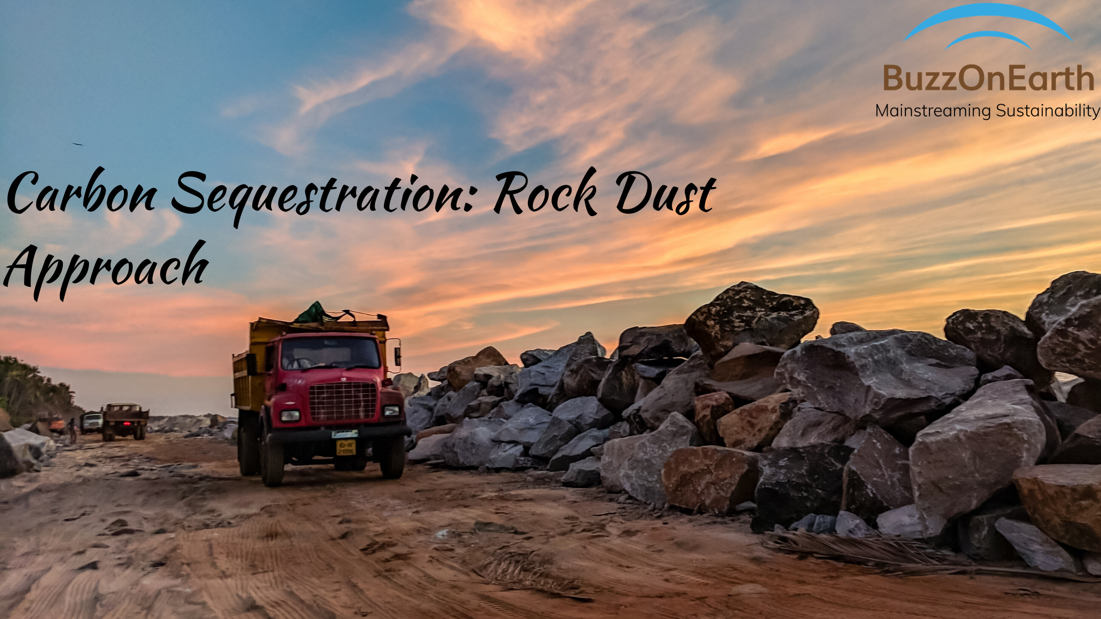Rock Dust Approach to Carbon Sequestration- A sustainability Analysis