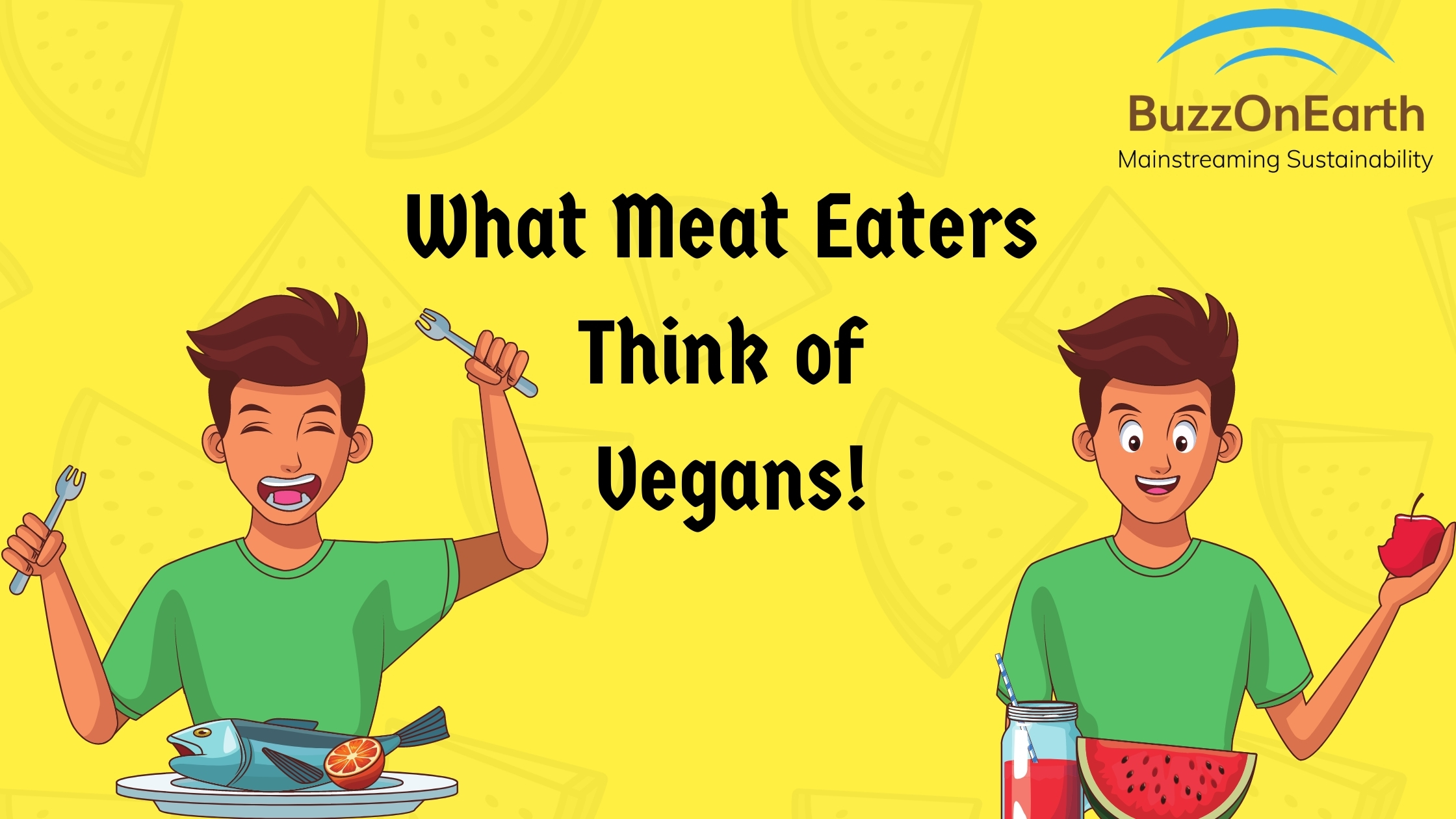 What meat-eaters think of Veganism?