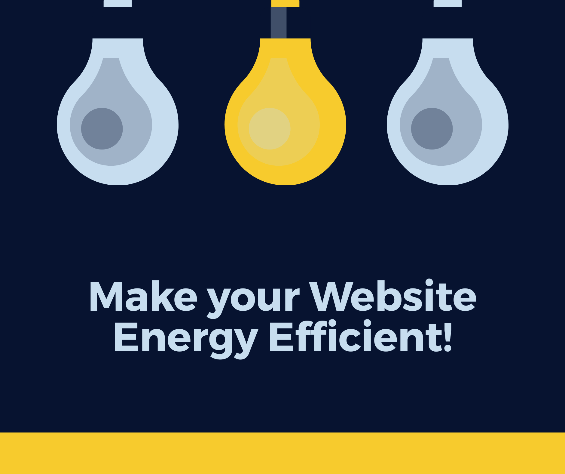 9 Ways to make your website More energy Efficient