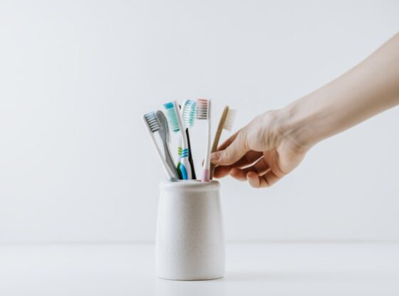 Are plastic toothbrushes recyclable?