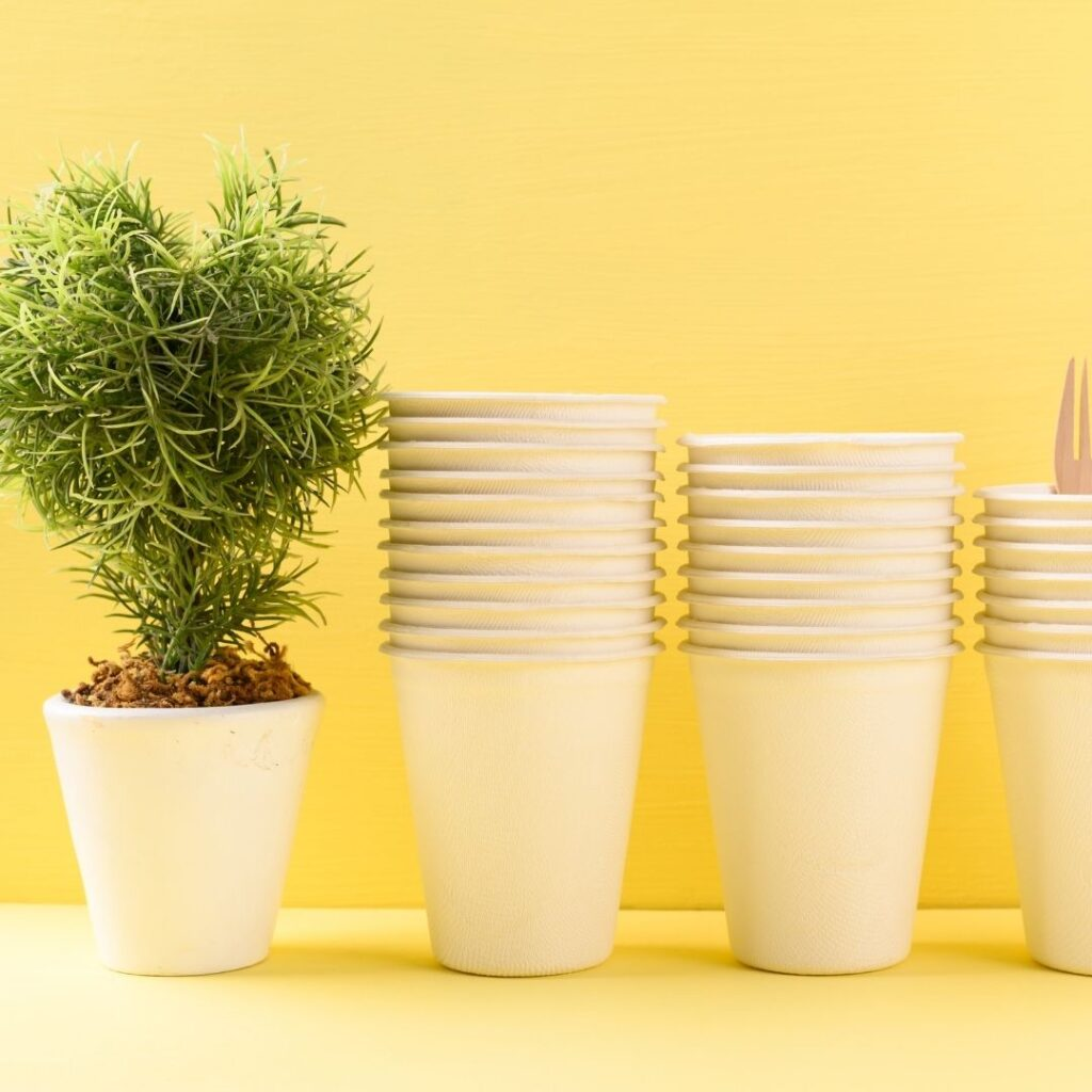 Compost Compostable Cups at Home
