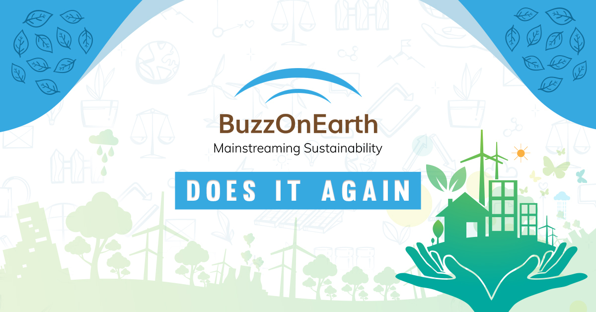 #BOEDoesItAgain: Ranks 26th in Feedspot's Global list of Sustainability Publications