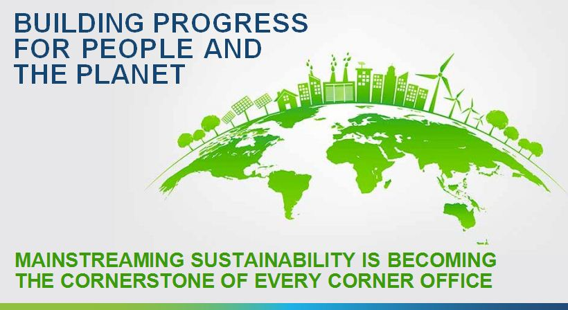 BUILDING PROGRESS FOR PEOPLE AND THE PLANET